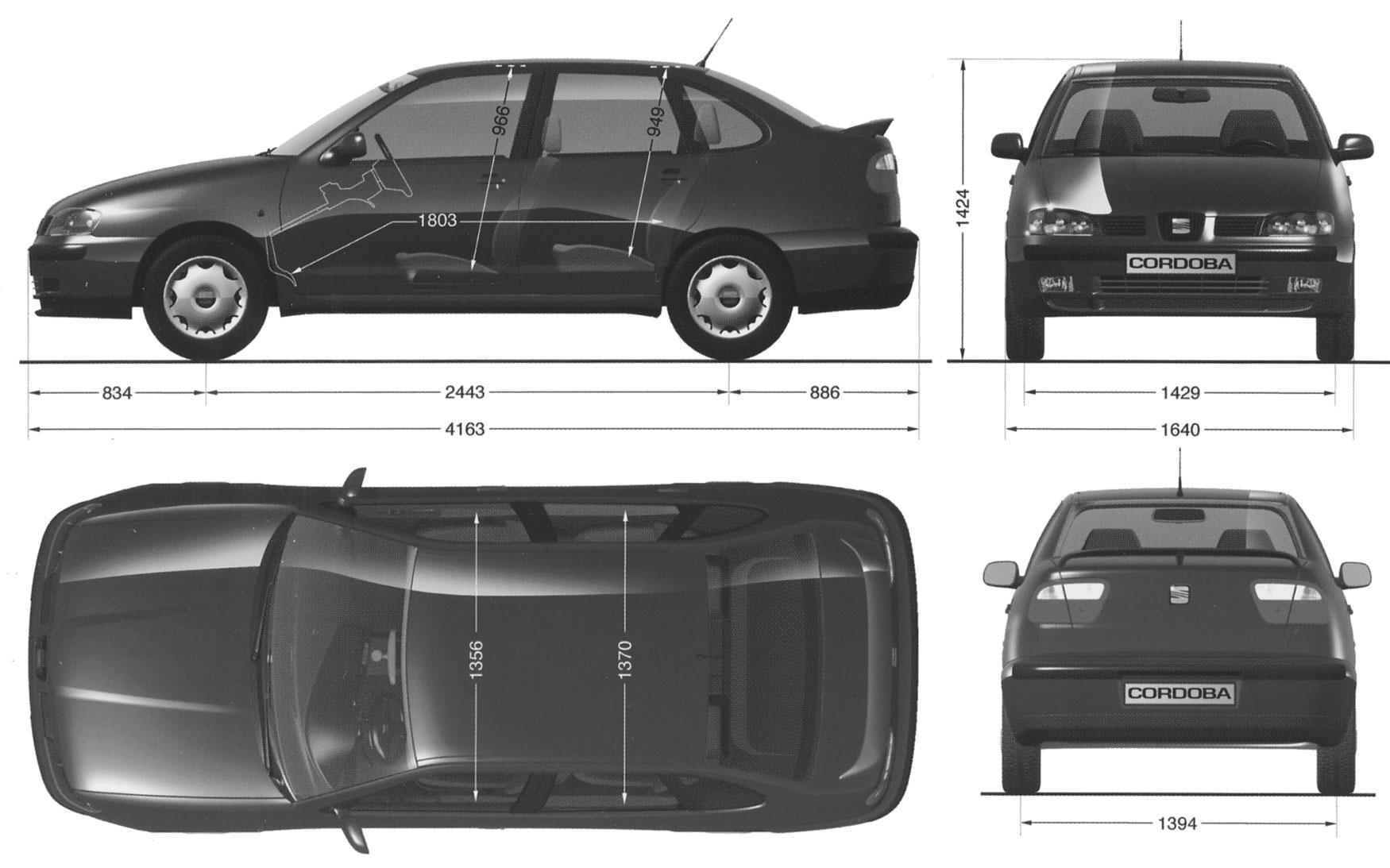 Car seat cordoba the photo thumbnail image of figure - Dimensiones seat ...